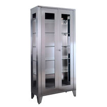 Surgical instrument display cabinet / hospital / 2-door