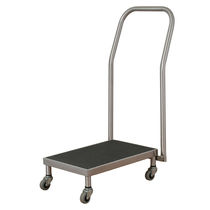 Transport cart / stainless steel