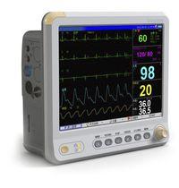 Multi-parameter ECG monitor / compact / veterinary / wireless