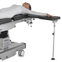Armrest / hand surgery / height-adjustable / X-ray transparent