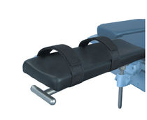 Armrest / operating table / with strap / adjustable