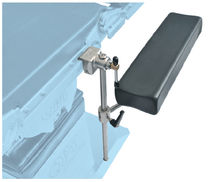 Armrest / operating table / height-adjustable / adjustable