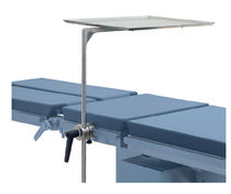 Standard stainless operating table tray