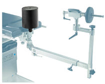 Lumbar support cushion / operating table / cylindrical
