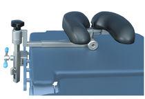 Headrest / operating table / horseshoe-shaped / adjustable
