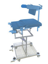 Multi-function trolley / operating table accessory / with basket