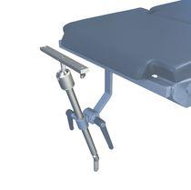 Headrest / operating table / helmet