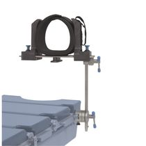 Knee support / operating table / for arthroscopy / height-adjustable