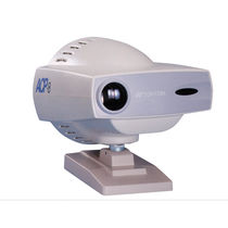 Remote-controlled ophthalmic chart projector