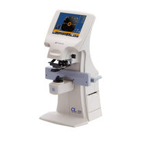 Automatic lensmeter / with UV transmission measurement