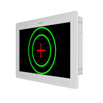 Ophthalmic test chart monitor / remote-controlled