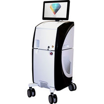 Dermatology laser / Nd:YAG / Er:YAG / trolley-mounted