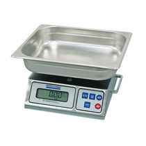 Electronic autopsy weighing scales / with LCD display / bench-top