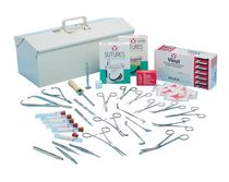 Veterinary surgery instrument kit