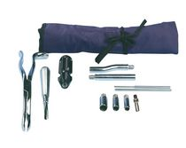 Veterinary dental extraction instrument kit