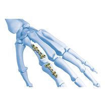 Hand phalange osteotomy plate / metacarpus
