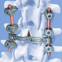 Cervico-thoraco-lumbo-sacral spinal osteosynthesis unit / posterior / adult