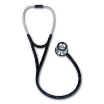 Dual-head stethoscope / cardiology / stainless steel