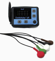 3-channel Holter monitor