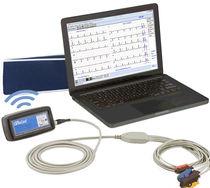 Cardiac stress test equipment / trolley-mounted / with treadmill