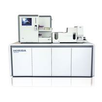 Blood smear sample preparation system / laboratory / fully automated / staining