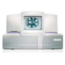 5 populations hematology analyzer / automatic / with touchscreen / electrical impedance