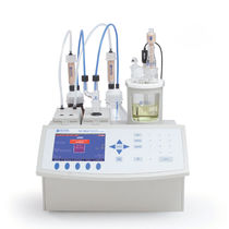 Coulometric titrator / automatic / Karl Fischer / laboratory