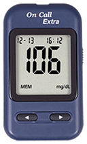 USB blood glucose meter