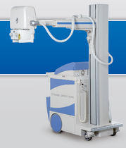 Digital mobile radiographic unit