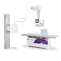 Radiography system radiography / digital / for multipurpose radiography / with ceiling-mounted telescopic tube support