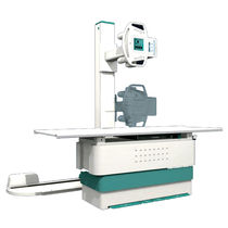 Radiography system / digital / for multipurpose radiography / with motorized tilting table
