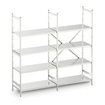 Modular shelving unit / stainless steel