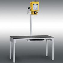 Veterinary X-ray system / digital / table-type