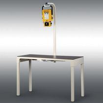 Veterinary X-ray system / analog / table-type