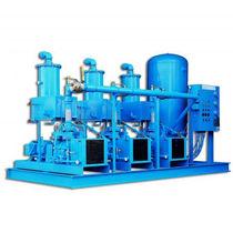 Liquid ring vacuum pump / medical / lubricated
