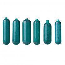 Oxygen medical gas cylinder / carbon composite