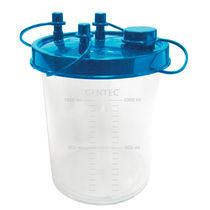 Medical suction pump jar / plastic / disposable