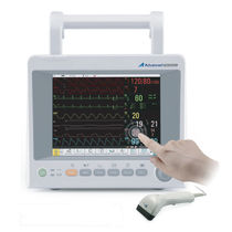 Intensive care multi-parameter monitor / clinical / ECG / TEMP