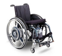 Electric wheelchair drive / back