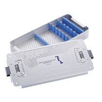 Instrument sterilization tray / perforated