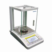 Analytical laboratory balances / with LCD display / bench-top / with external calibration weight