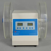 Friability tester / for tablets / tabletop / double-drum