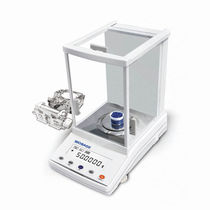 Electronic laboratory balances / analytical / for scientific research / bench-top