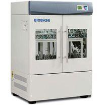 Shaking laboratory incubator / vertical / 2-door