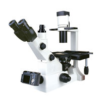 Laboratory microscope / biological / optical / inverted