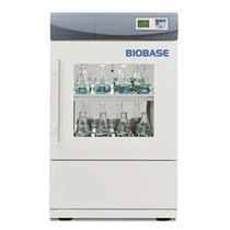 Shaking laboratory incubator / vertical