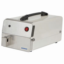 Blood bag tube sealer / automatic / bench-top / portable