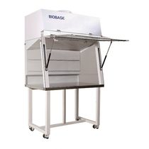 Class I biological safety cabinet / floor-standing / with HEPA filter