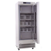 Laboratory freezer / for vaccines / for blood plasma / vertical