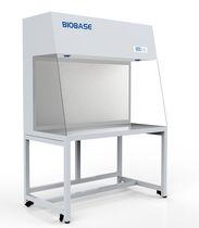 Laboratory fume hood / floor-standing / horizontal laminar flow